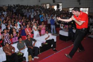 Happy, energetic events across India