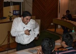 A crazy talk @ MDI, Gurgaon
