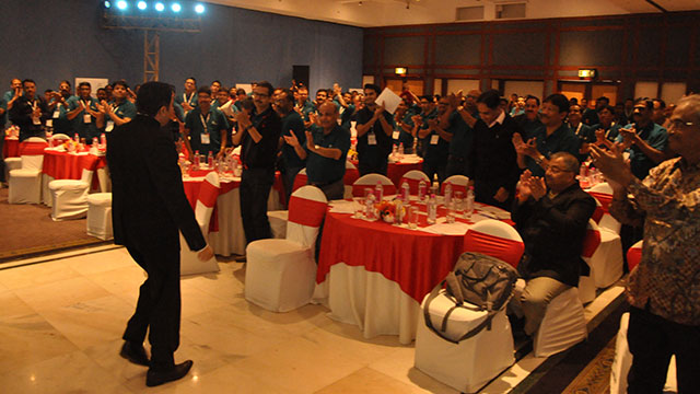 Adani Group Sr Mgmt gives Akash's Event a standing ovation