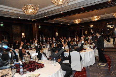 Dubai - Leadership Games with First Gulf Bank Management