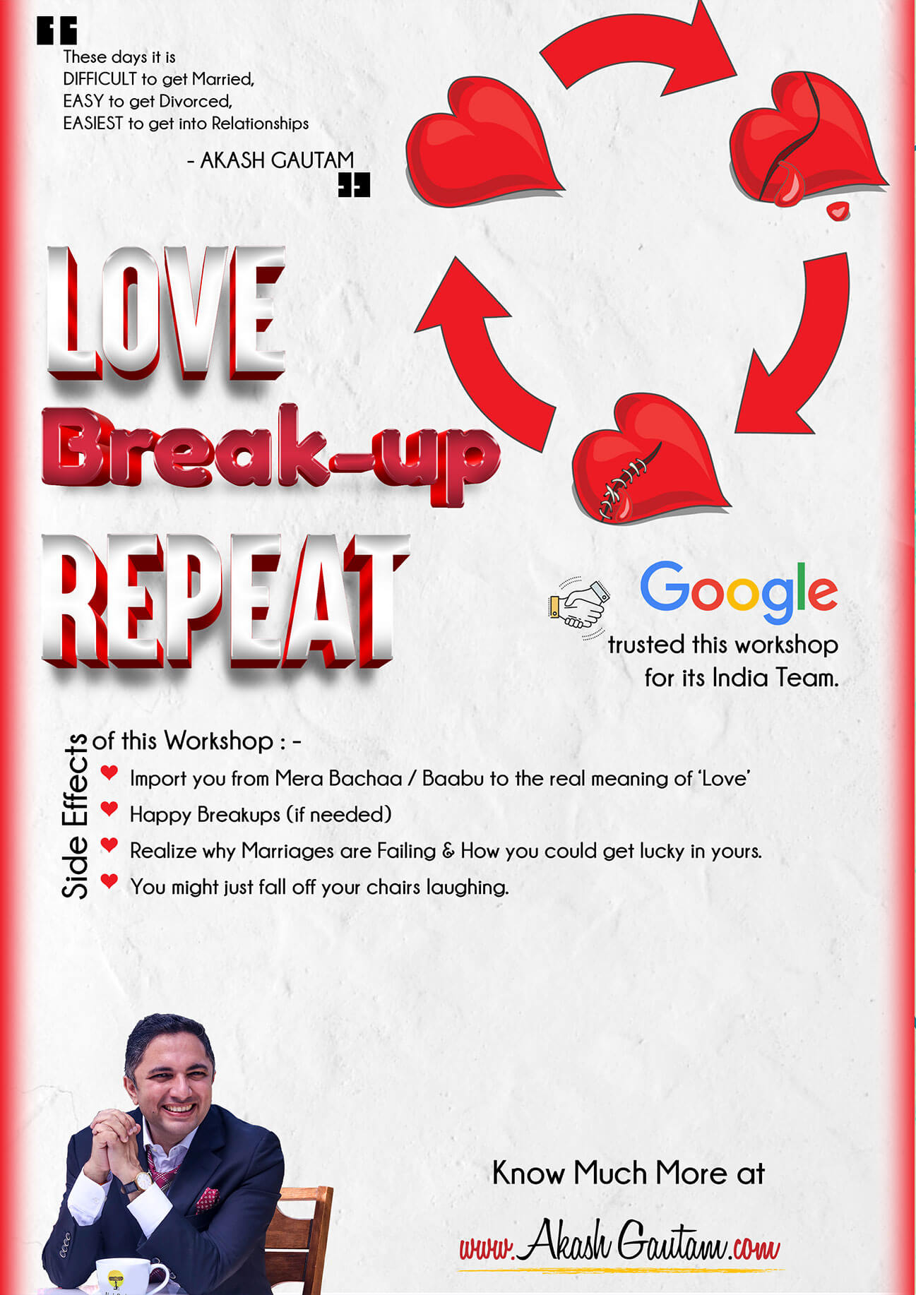 The best, funnily crazy Motivational Event on Relationships