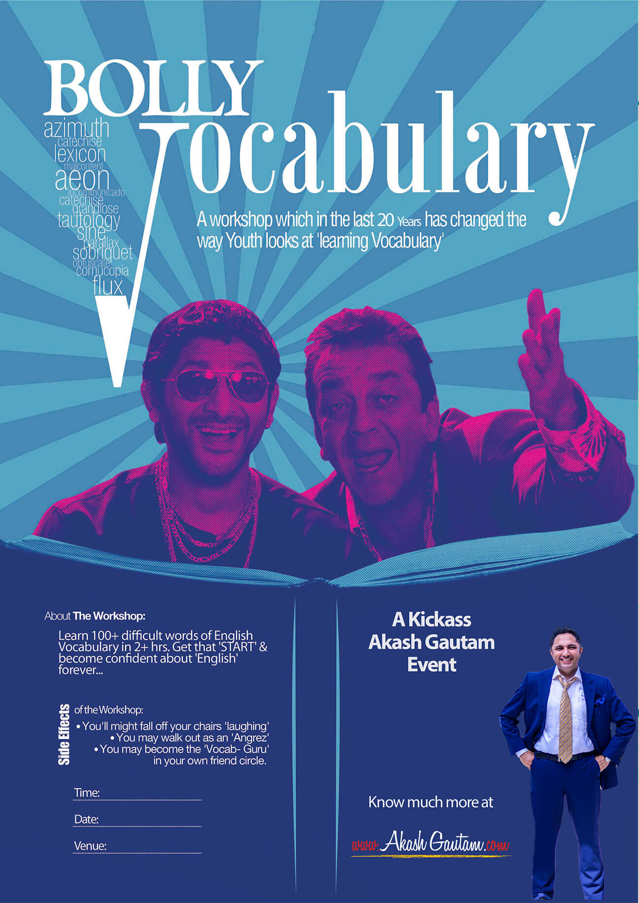 Best vocabulary workshop for students by Akash Gautam