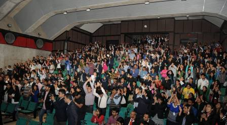 IIM Ahmedabad - Akash's Event receives a Standing Ovation