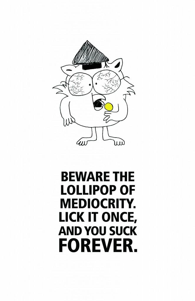mediocrity sucks blog image