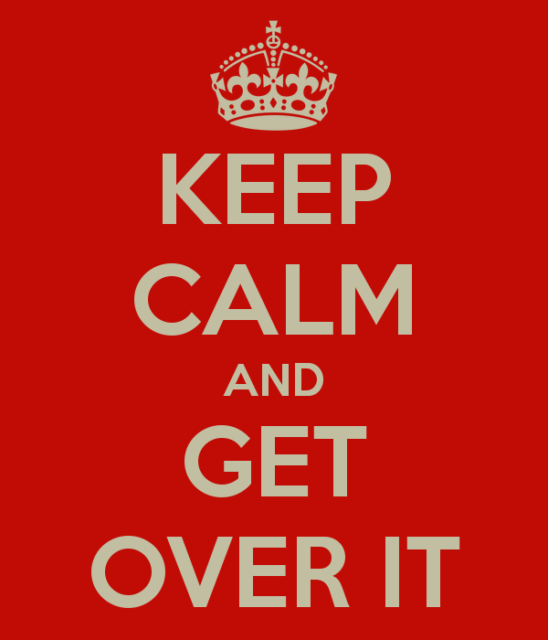 getting over a break up blog