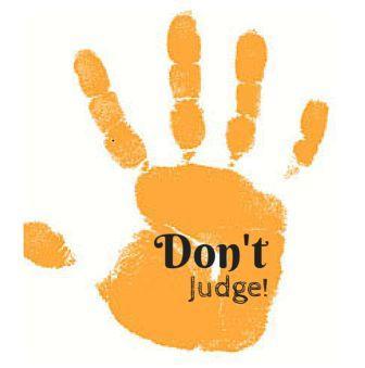 don't judge an addict