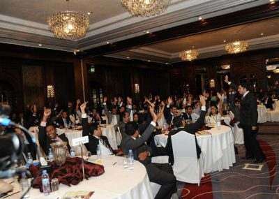 Most trusted motivational speaker in Dubai - First Gulf Bank meeting