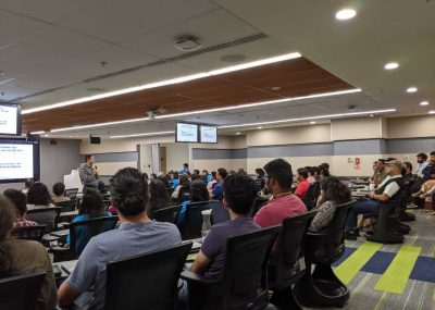 Keynote Speaker akash gautam at Google INDIA HQ