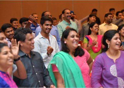 Happy Happy Audience