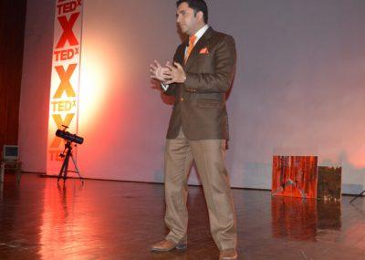 akash at TEDx