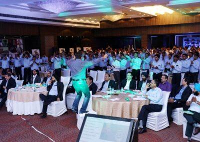 motivational speaker akash at Annual Sales Conference