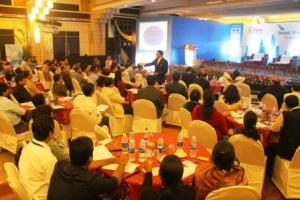 Addressing the future investors of Odisha